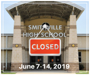 High School Closed Graphic