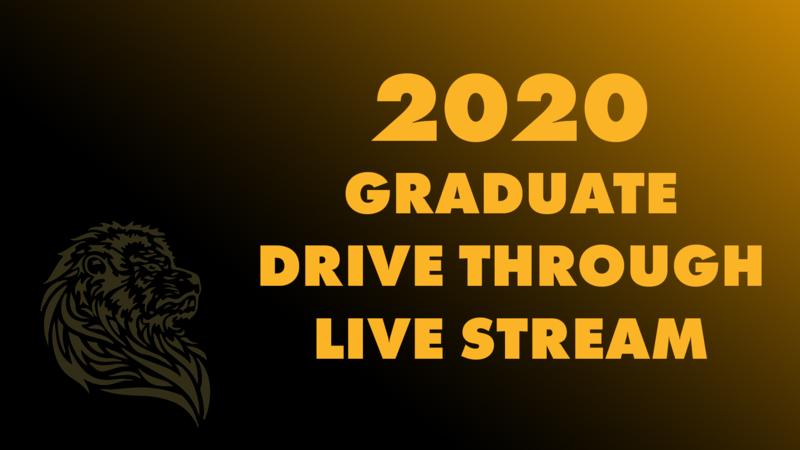 LIVE: 2020 Graduate Drive Through Featured Photo