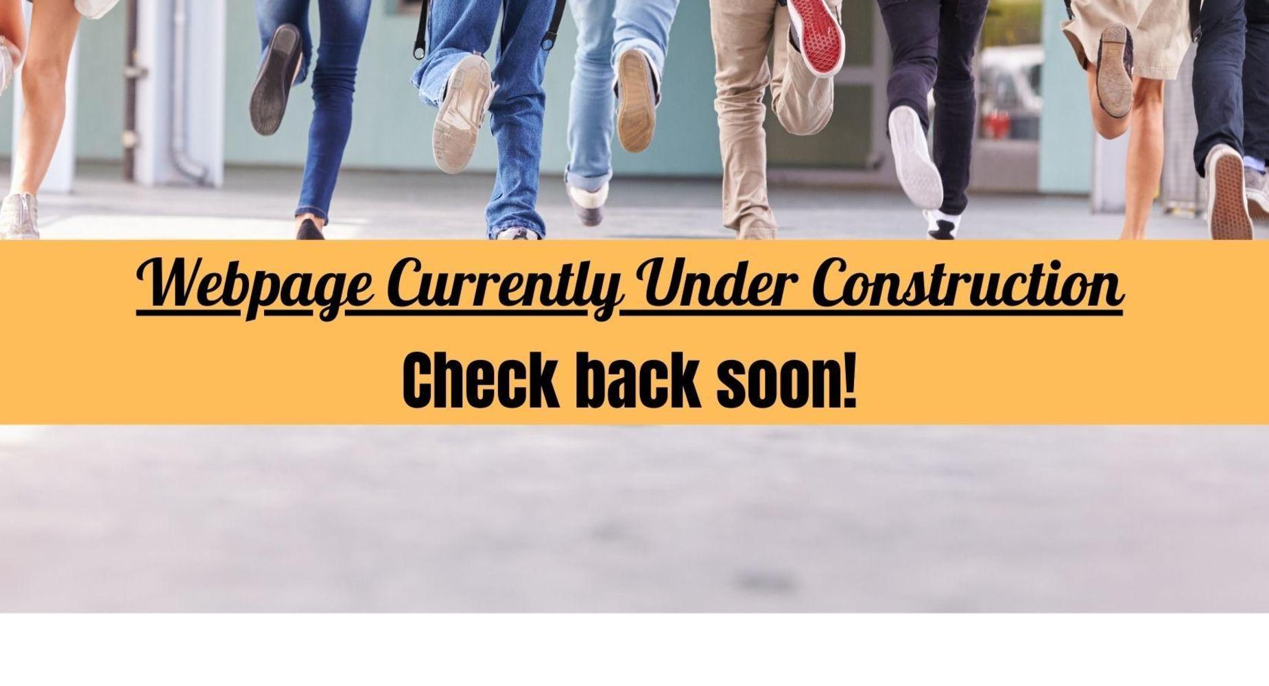 Webpage Under Construction