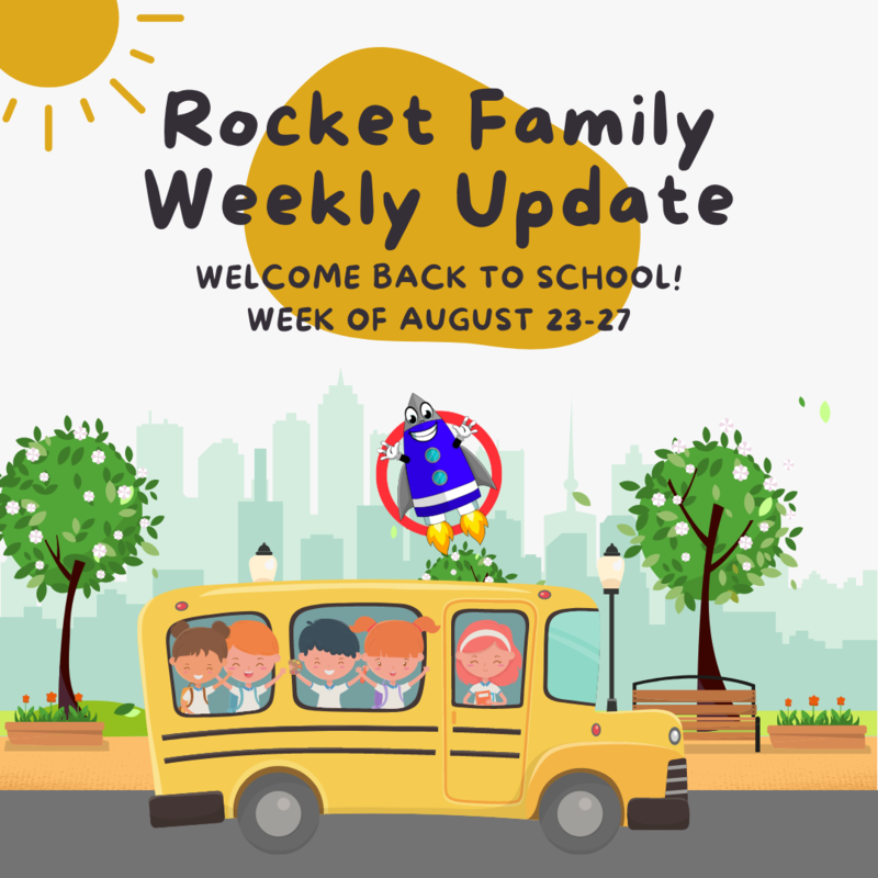 Rocket Family Weekly Update: August 23-27 Featured Photo