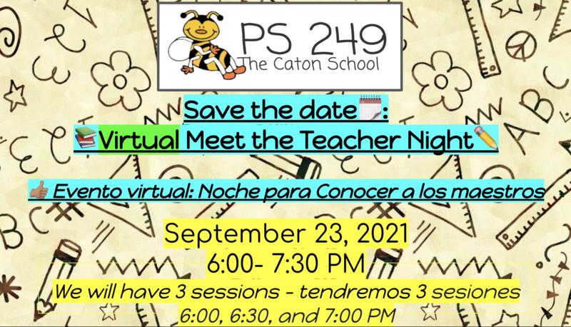 **Virtual Meet the Teacher Night** Featured Photo