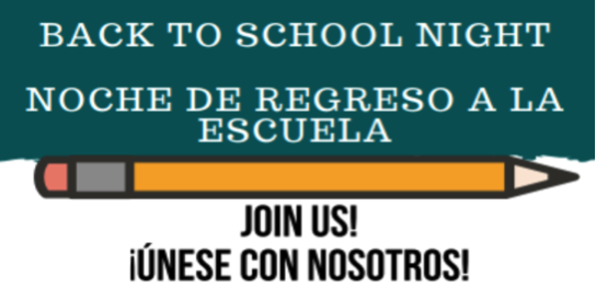 Back to School Night (Noche de Regreso a la Escuela) Featured Photo
