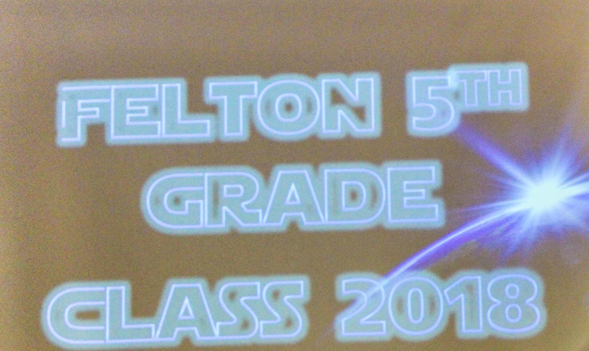 Felton Elementary Promotion 2018