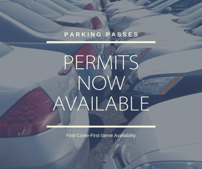 Parking Passes Available! Thumbnail Image