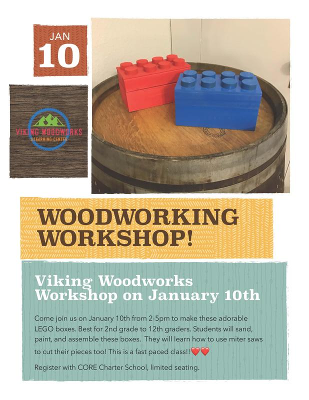 Woodworking Flyer