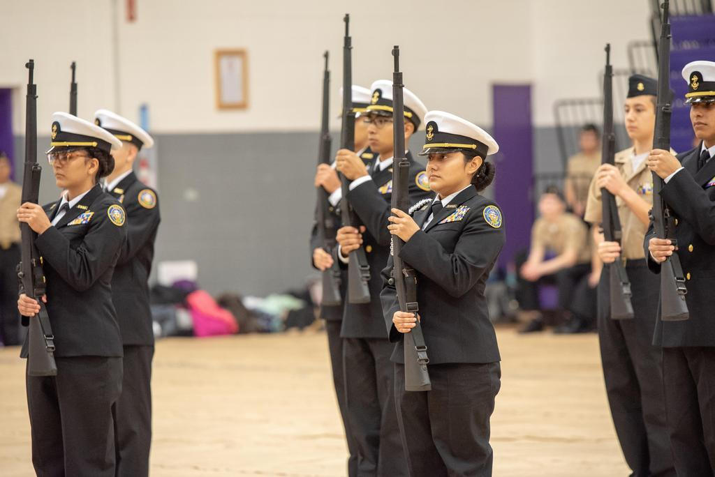 NJROTC Inspection