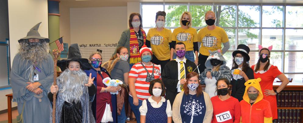 Red Ribbon Staff Storybook Character Dress Up Day