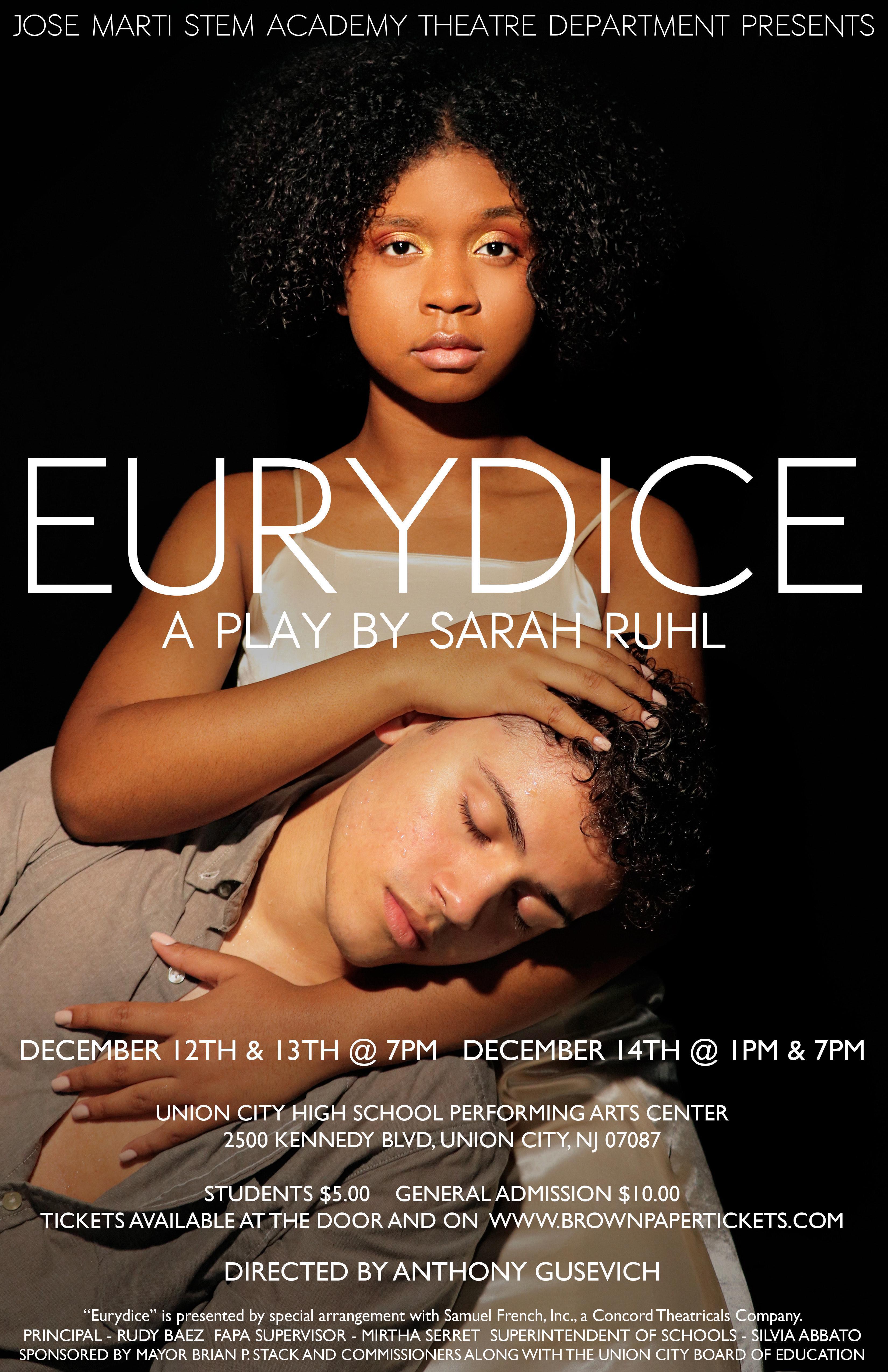 Eurydice Play Flyer