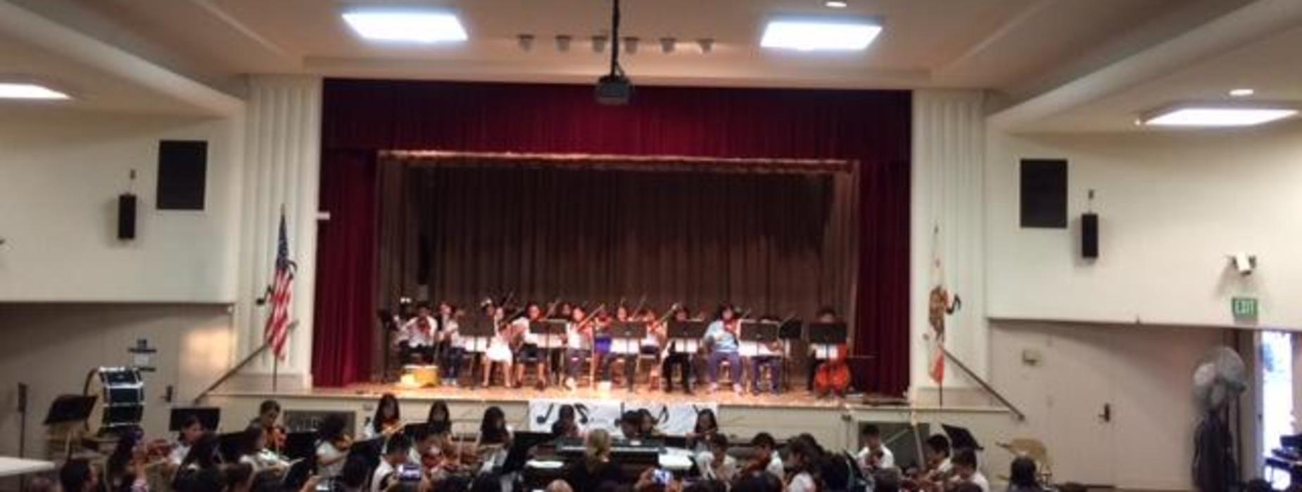 Marguerita School Band Performance