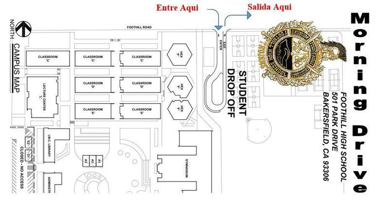 La nueva area donde se dejan los estudiantes abrira el 12 de febrero. Thumbnail Image