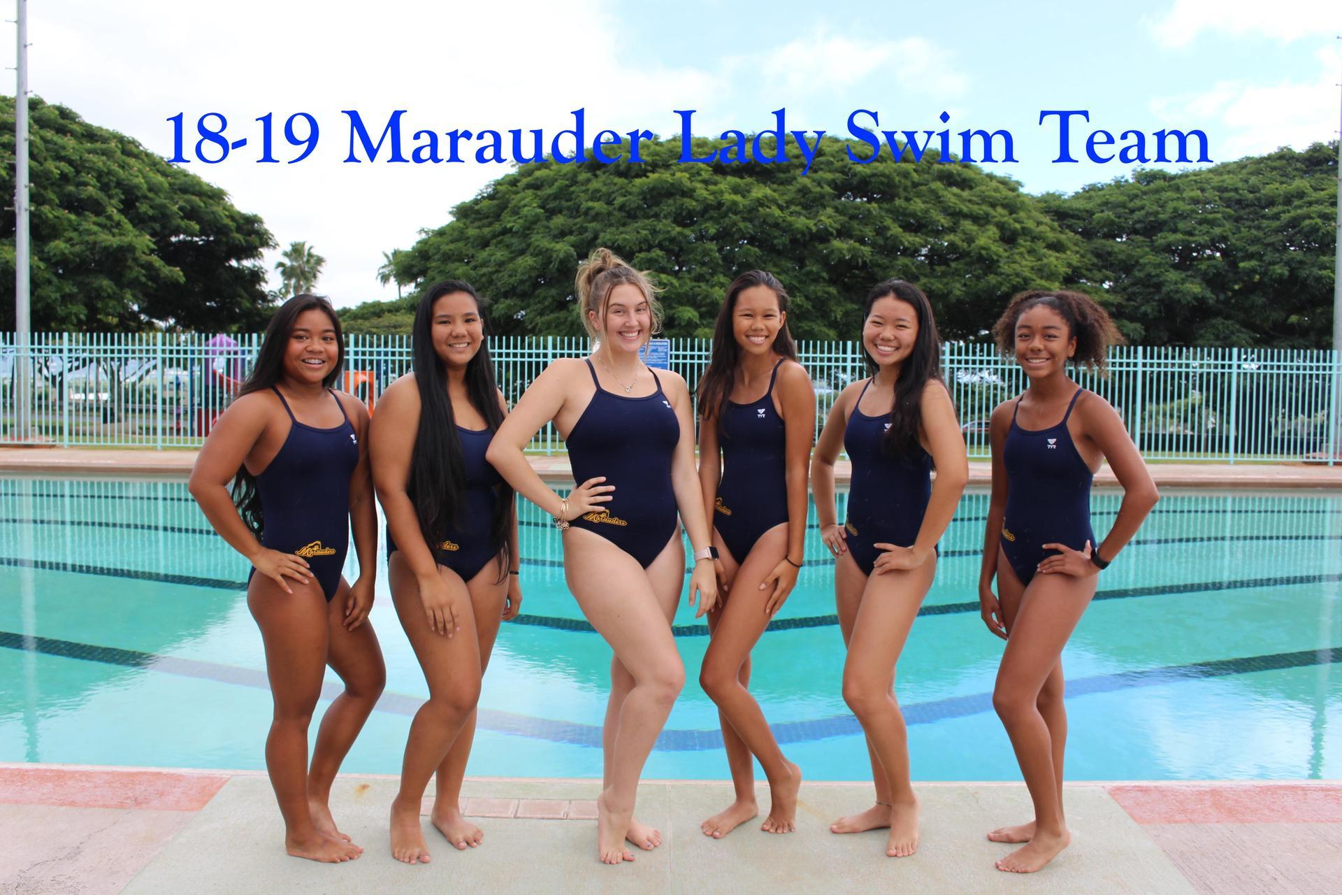 Swimming Varsity Girls