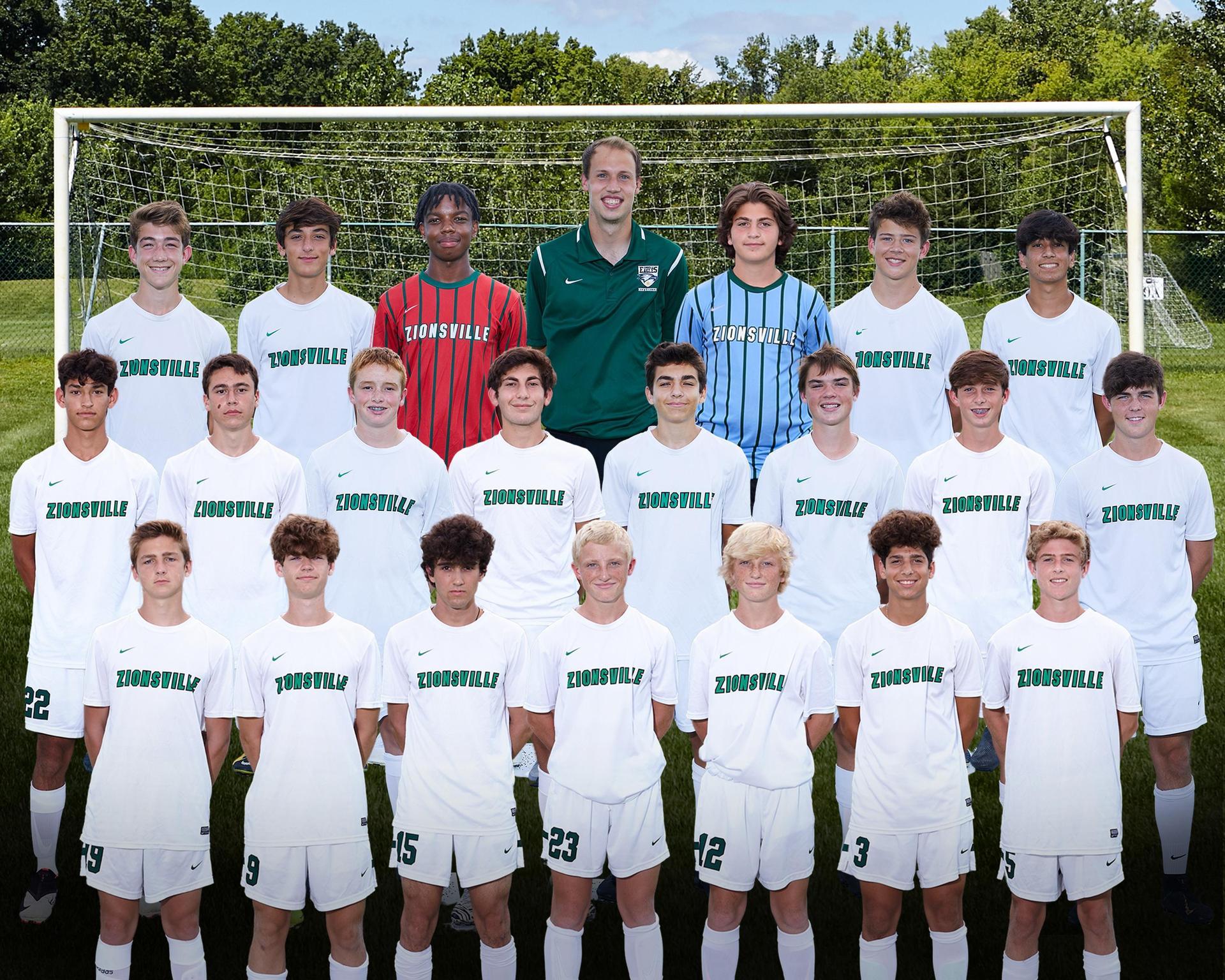 2020 Boys JV Soccer Team