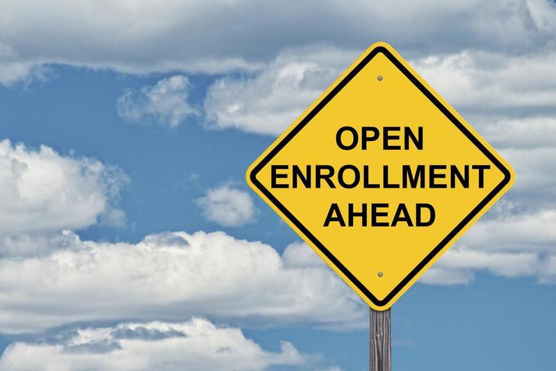 enrollment sign