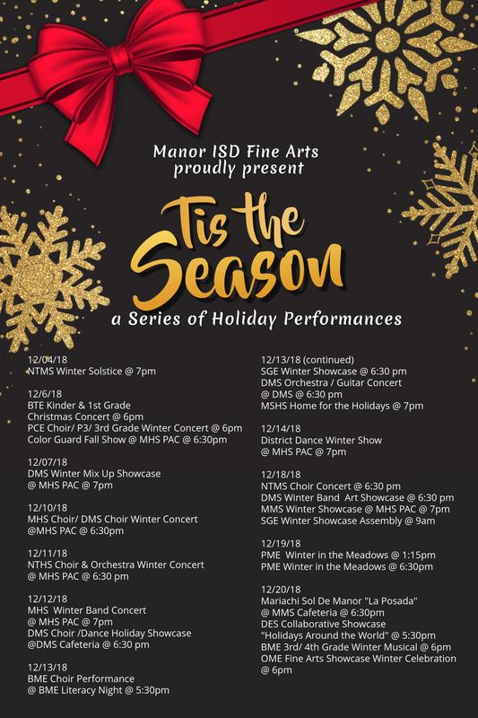 performance schedule