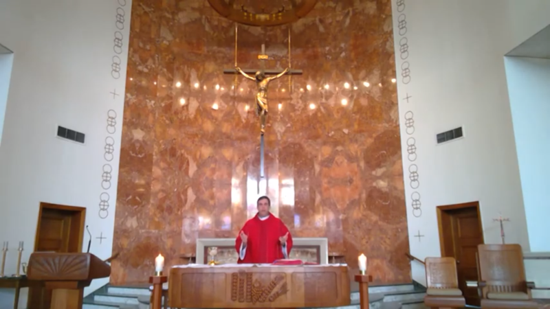 Palm Sunday Mass at Christ the King Featured Photo