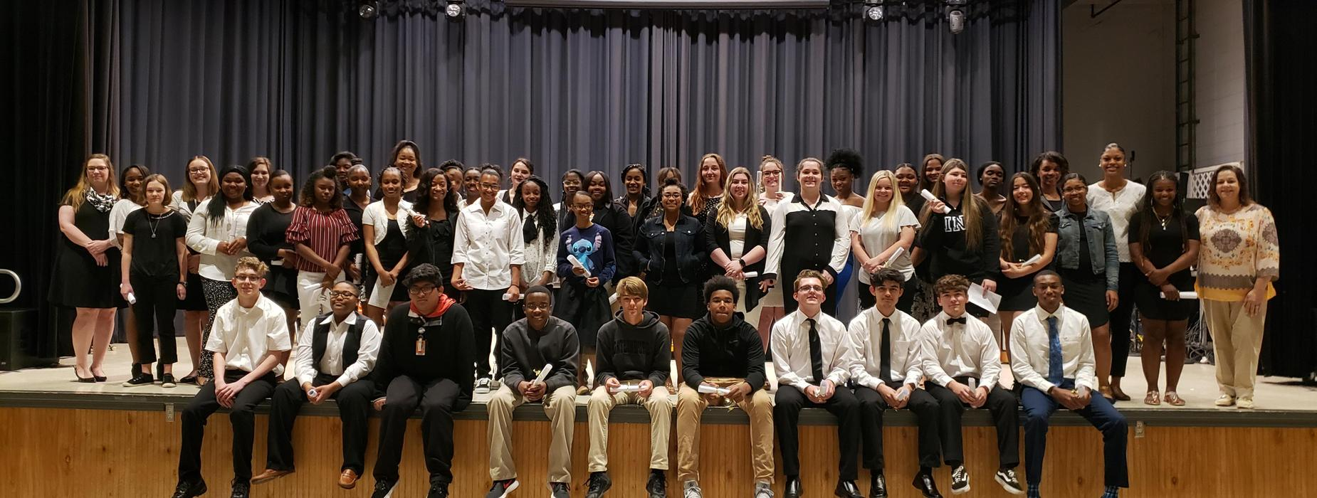 2018-2019 National Honor Society Inductees
