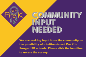 Community Input Needed for tuition-based Pre K