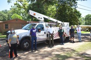 The McComb School District partners with Sparklight to provide internet connectivity in three McComb School District neighborhood locations.