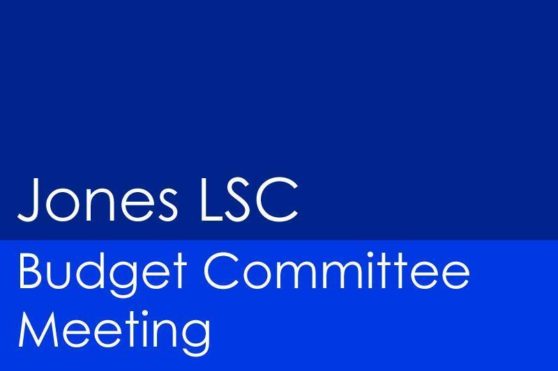 Image Jones LSC Budget Committee Meeting