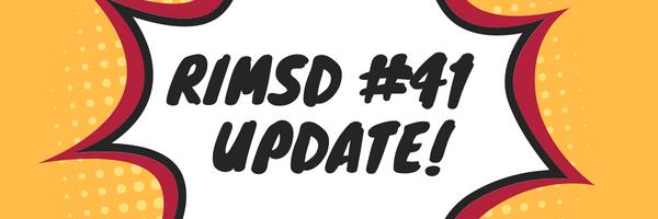 RIMSD41 update