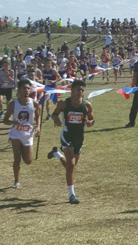 Eli Ortiz State Cross Country 2018