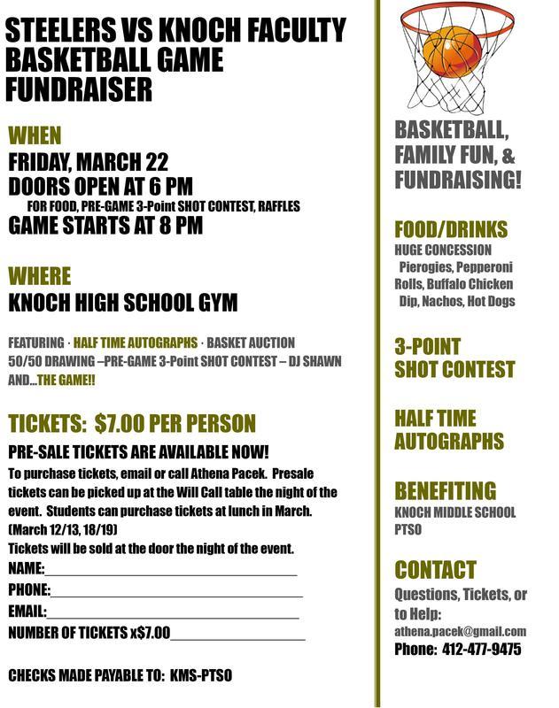fundraiser flyer