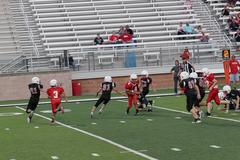 MWJH ram defense on the work against the tigers.