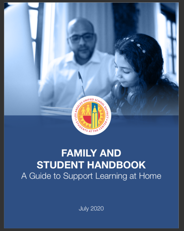 Family and Student Handbook (English) PDF Featured Photo