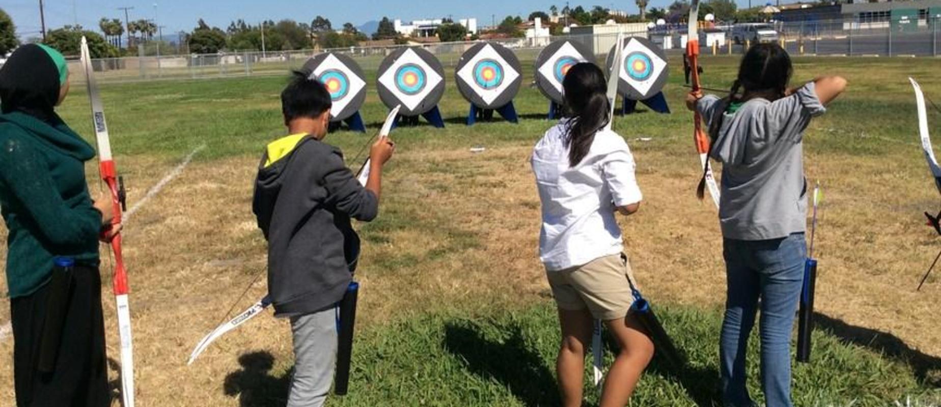 Archery Club Practice