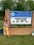 FCES 5th Graders were celebrated with a drive-thru graduation ceremony.
