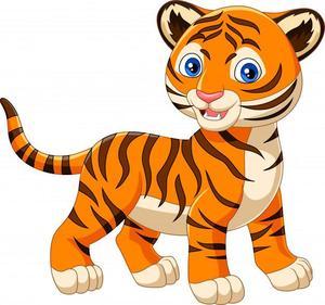 clip art tiger
