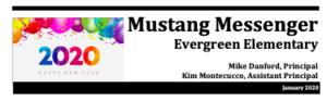 January Mustang Messenger