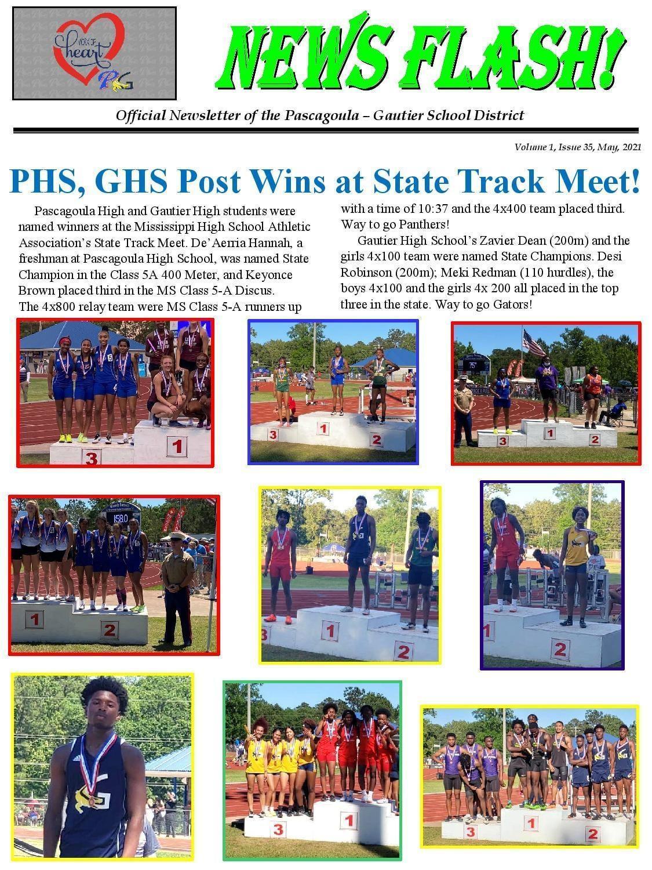 Track meet winners
