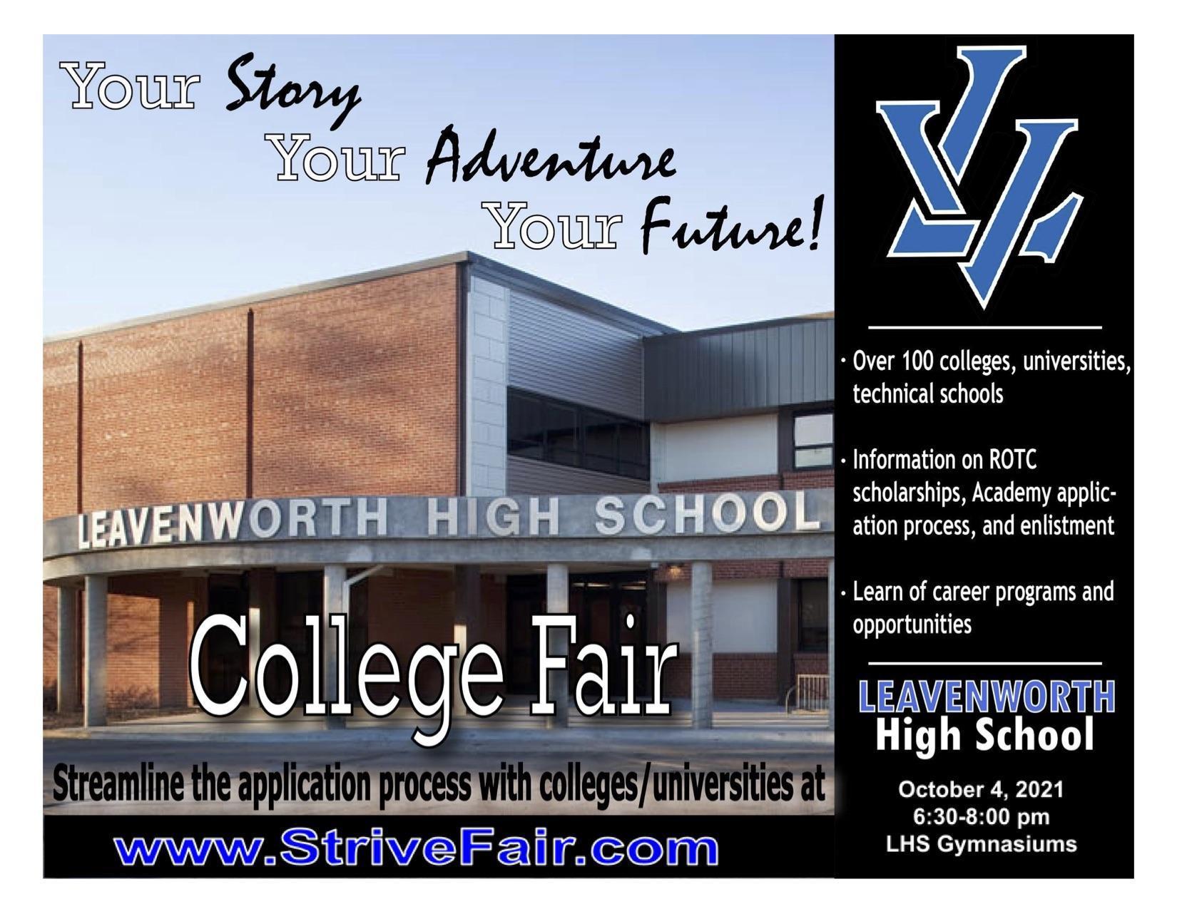 Leavenworth High School College Fair