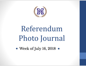 Title page - referendum photo journal