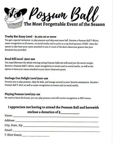 Possum Ball 2020 Featured Photo