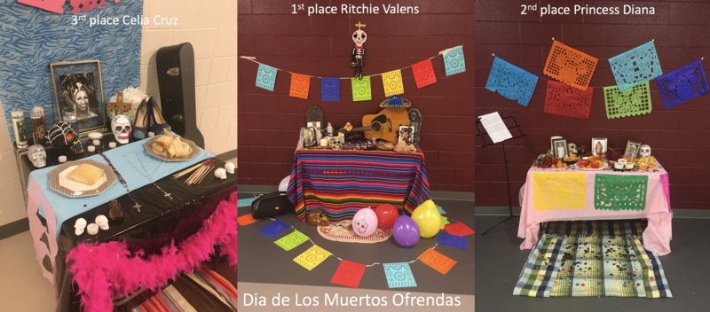 Advanced Spanish Classes celebrate Dia de Los Muertos Featured Photo