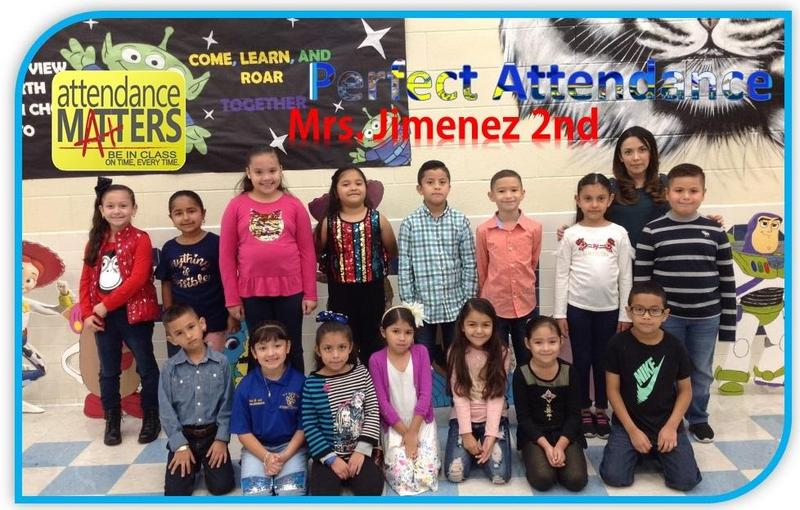 Congratulations are in order for 4 classes at North Elementary for Perfect Attendance Thumbnail Image