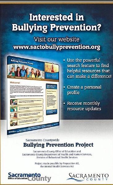 Bullying Prevention Flyer SCOE