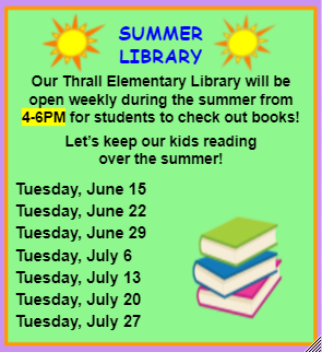 ES Library Open on Tuesdays! Thumbnail Image
