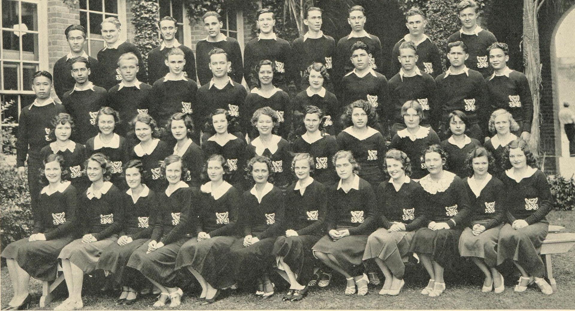 Winter Class of 1933