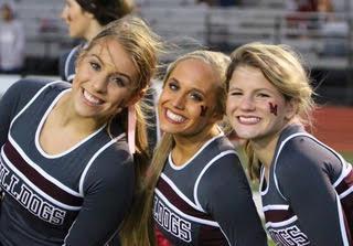 Mag High Cheerleaders