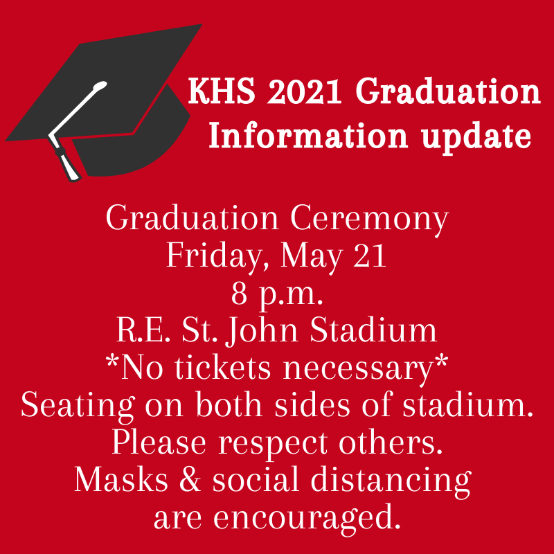KHS 2021 Graduation Featured Photo