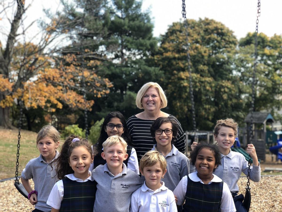 Kids with Principal