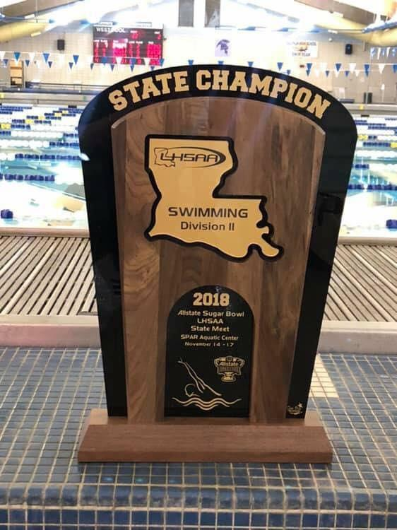 Tigers Win State Swimming Championship Featured Photo