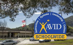 Vista Heights Middle School named AVID Site of Distinction