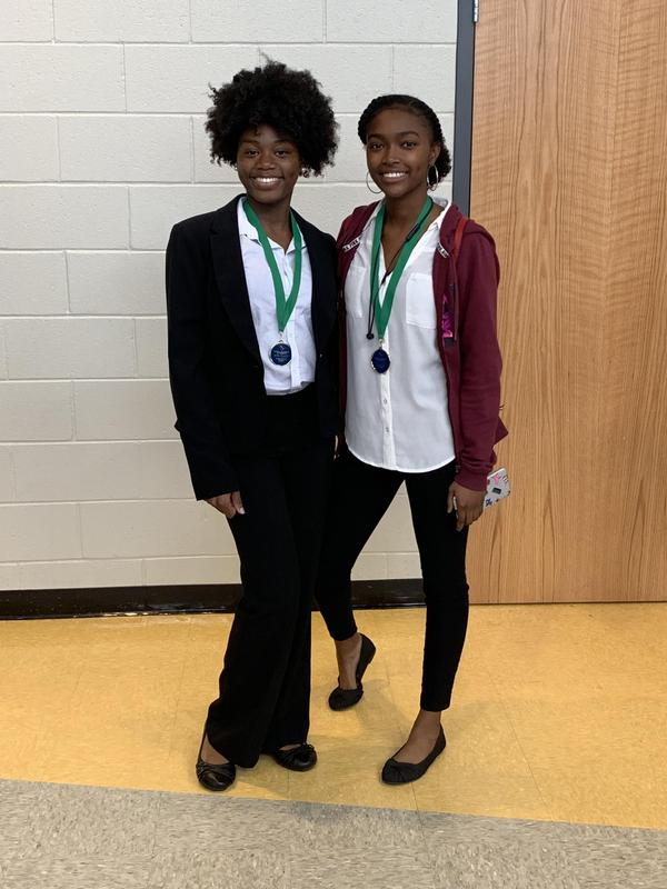 Krishayla Boyd and Cherisse Trapp- 5th Place Publication Design