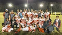 Beau Chene Boys soccer 2018 Carencro Showcase Tournament Champions.