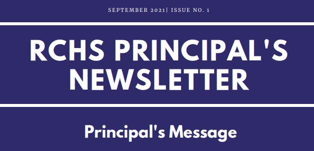 RCHS Newsletter