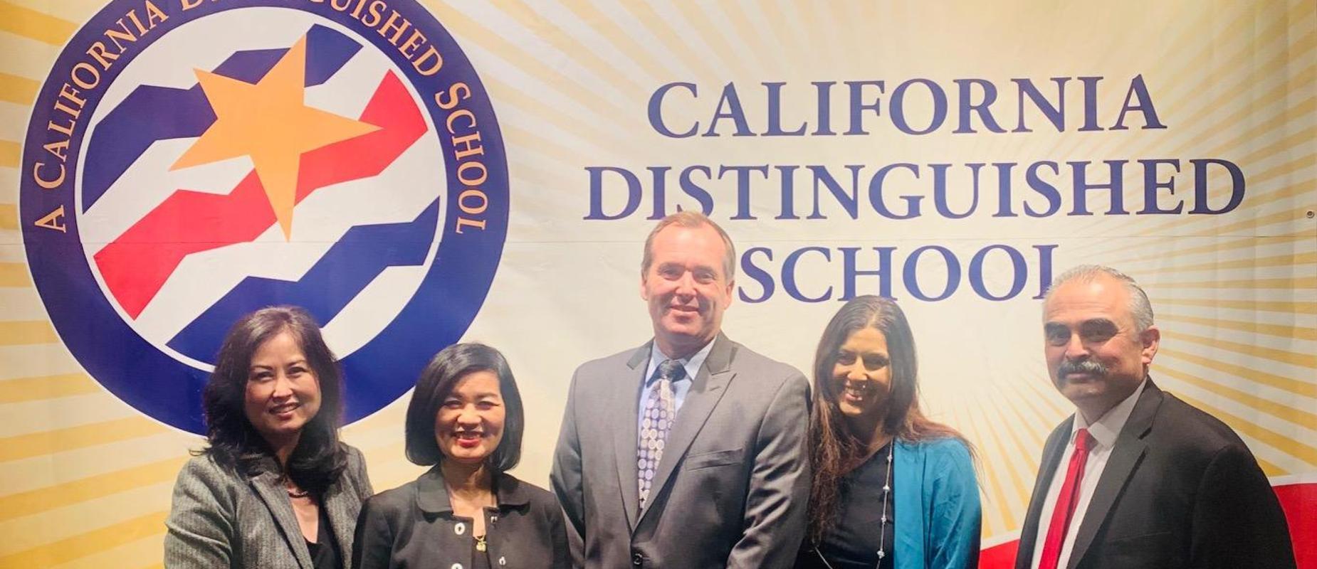 Congratulations to Hayden Elementary School for earning the prestigious Distinguished School Award!